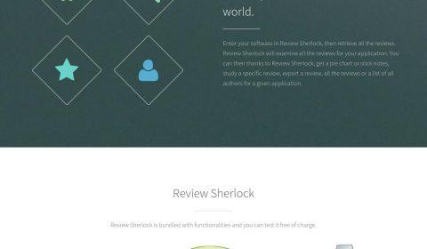 Review Sherlock Website